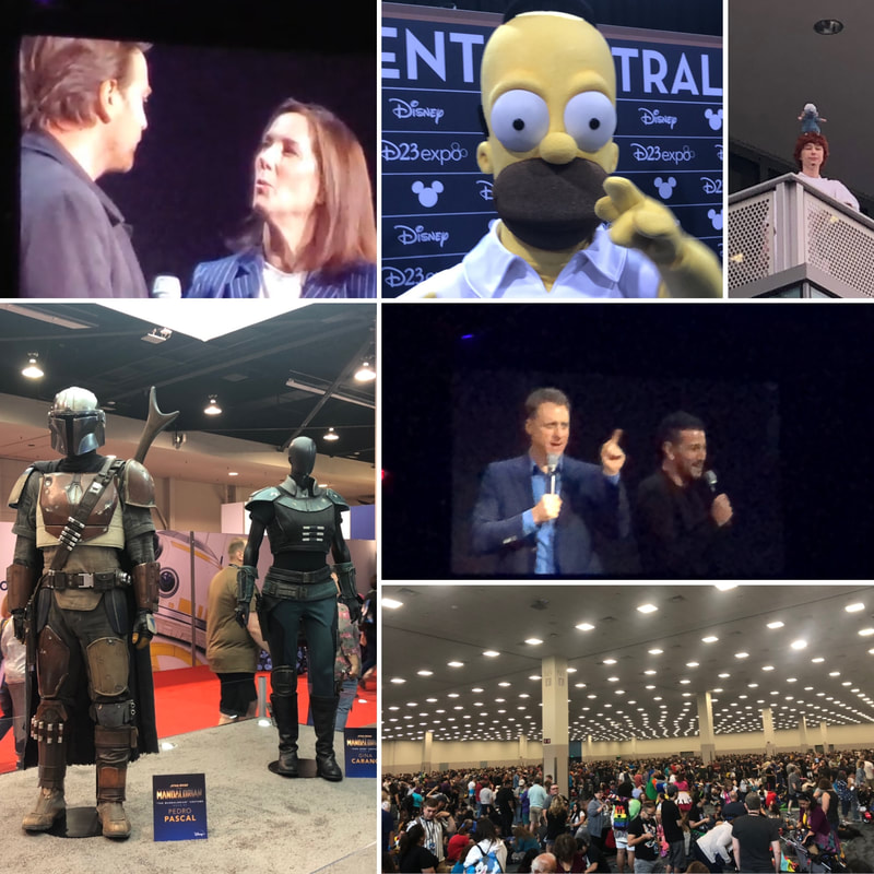 Episode 425 - D23 Expo 2019 Part 1 - PARKS AND CONS