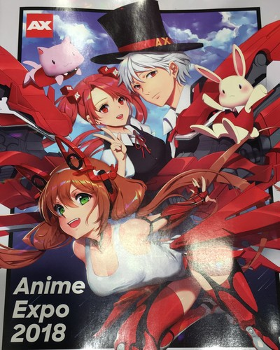 Anime Expo Stands : 2018 anime expo ax parks and cons